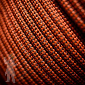 Djembe Rope 5mm - Black/Orange