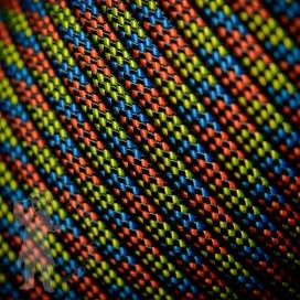 Djembe Rope 5mm - Yellow/Blue/Orange