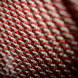 Djembe Rope 6mm - Red/White