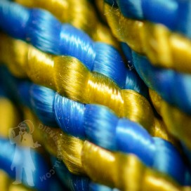 Djembe Rope 6mm - Yellow/Blue