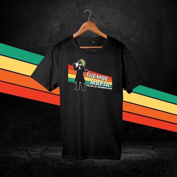 Djembemafia T-shirt - Black