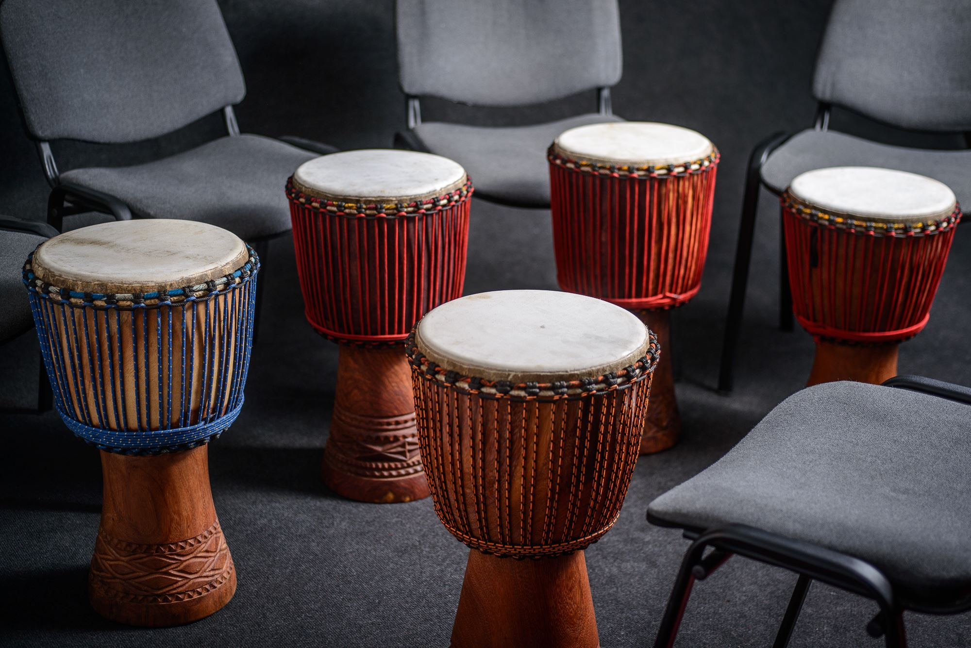 School drumming